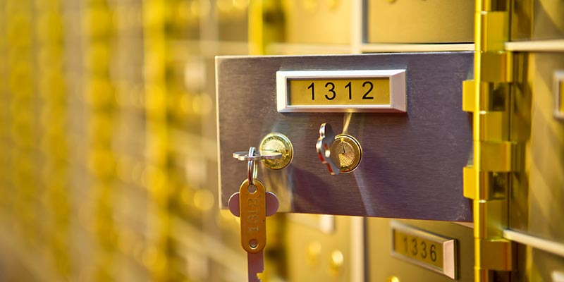 Safety Deposit Boxes Bradford
