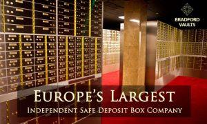 Safe Deposit Boxes Opening Soon Bradford